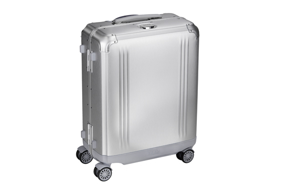 Zero Halliburton Pursuit Aluminum Continental Carry-On Case