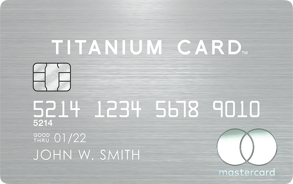 Luxury Card | Mastercard Titanium Card | ラグジュアリーカード